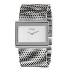 Relojes de Pulsera Axcent Plateado con correa de malla.  http://www.tutunca.es/reloj-precision-plata