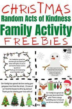 This Christmas random acts of kindness idea from Coffee and Carpool is the perfect way to also spend time as a family and create a new Christmas tradition for your family. You and your kids can spread kindness and Christmas cheer this December with these Random Acts of Kindness Christmas Ideas. Kindness For Kids, Small Acts Of Kindness, Kindness Ideas, Kindness Activities, Family Activities, Christmas Activities, Kids Calendar, Calendar Ideas, Advent Calendar