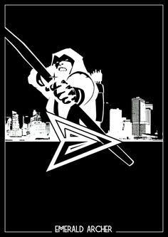 Green Arrow Silhouette is boss