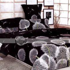 Dandelion Bed Duvet Cover Bedding Bed in a Bag 4Pcs - DinoDirect.com  [dandelion, Taraxacum officinale, Asteraceae]