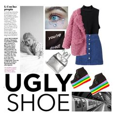 """""""ugly face ugly shoes ugly soul / Charlie Barker inspiration (not for the title !)"""" by pgrndjn ❤ liked on Polyvore featuring Barker, Witchery and Kara"""