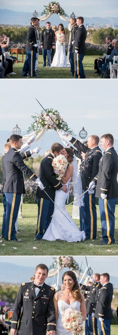 Military Wedding at Southern Highlands Golf Club | KMH Photography | Las Vegas Wedding Photographer