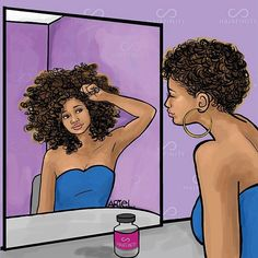 All Naturalistas can relate to this!  Patience is most definitely a VIRTUE when it comes to your natural hair journey!