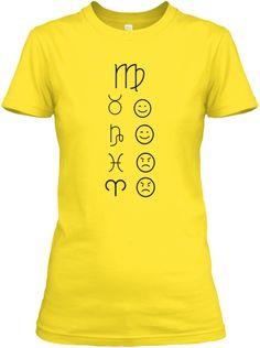 Virgo Love Tees Light Daisy T-Shirt Front