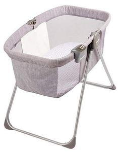 Evenflo Loft Portable Bassinet Grey Melange Bassinet