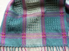 AtwaterBronson Lace Handwoven Scarf in Tencel with by estherbudd, $115.00