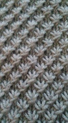 n var amerikanske /engelske video tutorials, men endelig fik jeg Knitting Designs, Knitting Projects, Knitting Patterns, Crochet Patterns, Knitting Stiches, Crochet Stitches, Knit Crochet, Outlander Knitting, Knit Dishcloth