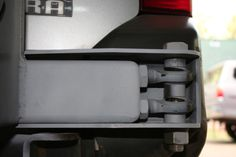 Swing out tire carrier latch and hinge ideas - OFN Forums