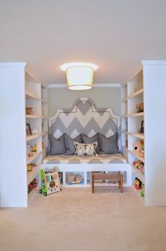 Bellissimo and Bella: This would be an interesting space for guest when we go to finish our basement....could get away with out a full bedroom
