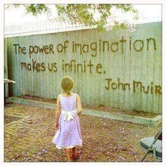 El poder d la imaginación tiene usos infinitos