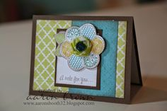 Skylark A Note for You Card