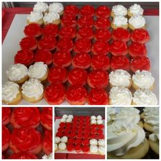 Dr nurses party -Medical Red Cross Cupcakes