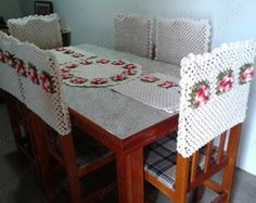 crochet chair covers