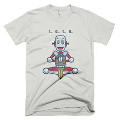 Meditating Robot - Men's Tee
