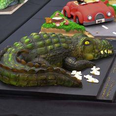 Cake International Sculpted Novelty Cake-7