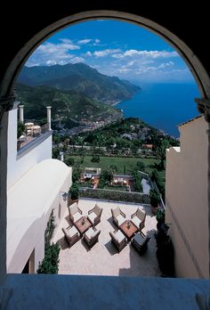 Brides.com: Top 10 Resorts in Europe. 8. Belmond Hotel Caruso, Ravello, Italy    Once upon a time — namely the 11th century — Hotel Caruso was a palace. Now it's populated by newly minted marrieds who soak in the Mediterranean views from an infinity pool perched high above the town of Ravello. Pool staff dole out fruit and Evian spritzes like candy, while you make the ultimate decision: should you spend your afternoon wandering the terraced gardens or touring the Amalfi Coast in the resort's…