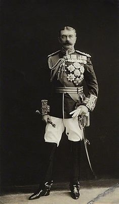 Horatio Herbert Kitchener, Earl Kitchener of Khartoum by Bassano proof print, 29 July 1910 11 in. mm x 163 mm) overall Given by Terence Pepper, 1990 NPG Kitchen Craft Cabinets, Kitchen Cabinet Design, Chinese Whispers, Royal Engineers, May 31, Traditional Doors, British Soldier, British Colonial, Yellow Fashion
