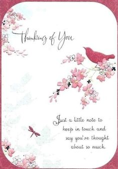 Thinking of you cards Morning Greetings Quotes, Good Morning Quotes, Night Quotes, Thinking Of You Quotes Sympathy, Sympathy Quotes, Thinking Of You Today, Get Well Wishes, Card Sayings, Friend Sayings