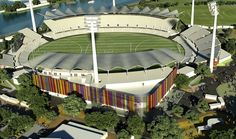 Gold Coast Stadium in Queensland, Australia