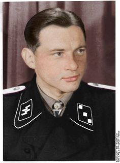 Michael Wittmann destruction of 138 tanks and 132 anti-tank guns. Died 8 august 1944. His Tiger has been destroyed by a Sherman Firefly of the Northamptonshire Yeomanry.