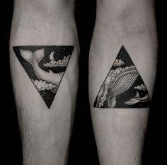 Brzezinski ha adaptado la técnica del dot-work a su trabajo para el arte de los diseños de sus tatuajes