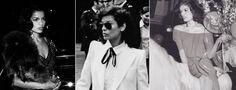 Bianca Jagger | http://www.destinationiman.com/glam-rock-style-icon-bianca-jagger/