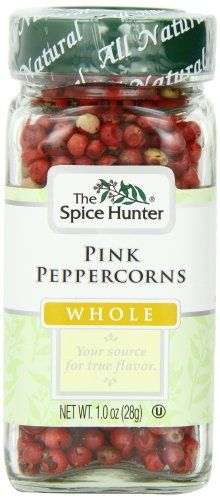 The Spice Hunter Peppercorns, Pink, Whole, 1-Ounce Jar - http://spicegrinder.biz/the-spice-hunter-peppercorns-pink-whole-1-ounce-jar/