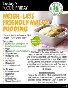 Discover ideas about healthy meal prep Healthy Meal Prep, Healthy Dessert Recipes, Healthy Snacks, Vegetarian Recipes, Cooking Recipes, Bread Recipes, Yummy Recipes, Malva Pudding, Meals