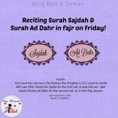 Bring Back A Sunnah.