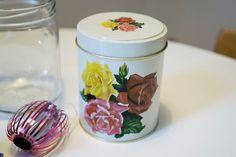 Kirppisrakkautta Jars, Tin, Nostalgia, Canning, Retro, Vintage, Home Decor, Decoration Home, Pots