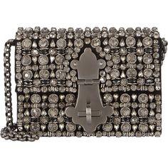 Dolce & Gabbana Crystal-Embellished Ginevra Shoulder Bag