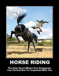 So true.. #extremesports #equestrian