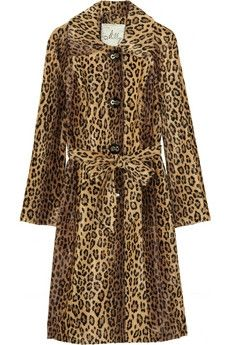 Milly|Leopard-print faux fur coat|NET-A-PORTER.COM - StyleSays