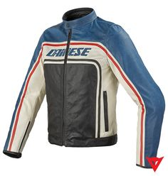Dainese Leather Jacket Tourage Vintage Pelle - front
