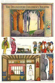 Snow White theatre, Tattered and Lost EPHEMERA