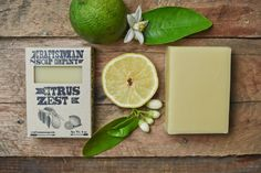 Citrus Zest. Lemon Grapefruit Lemongrass & May by CraftsmanSoapCo