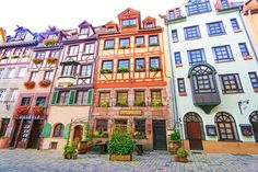 The Bavarian town of Nuremburg, home of Germany's most famous Christmas Market!