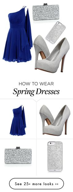 """Untitled #1230"" by candy111796 on Polyvore featuring Call it SPRING and Edie Parker"