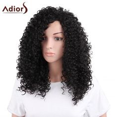 SHARE & Get it FREE | Adiors Long Shaggy Afro Curly Side Bang Synthetic WigFor Fashion Lovers only:80,000+ Items·FREE SHIPPING Join Dresslily: Get YOUR $50 NOW!
