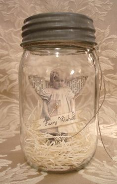 PDF Fairy in a Jar Tutorial no shipping cost. $6.00, via Etsy.