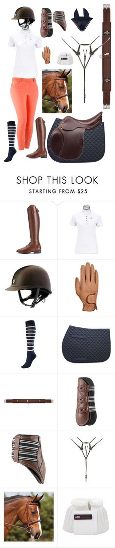 Schooling 3 by karleneduv on Polyvore featuring Ariat and Roeckl