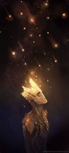 Groot : Spores by megatruh on deviantART
