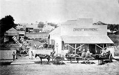 Brent Brothers Grocery Pensacola Florida in 1880