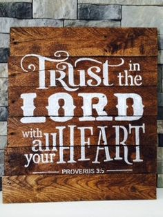 Reclaimed wood sign with verse from Proverbs 35 Reclaimed Wood Signs, Reclaimed Wood Projects, Rustic Signs, Wooden Signs, Wooden Boards, Pallet Crafts, Pallet Art, Pallet Signs, Wood Crafts