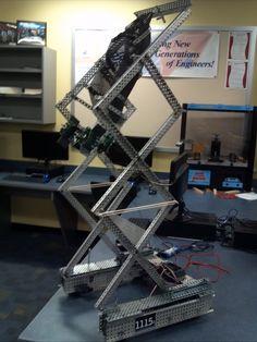 VEX Chassis Designs | The gallery for --> Vex Robotics Skyrise Scissor Lift
