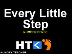 Turn your brain into a stairmaster! Students will use number sense and proportions to see where steps can take you.