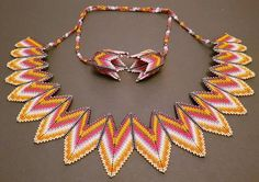 So pleased to have my Star Necklace mentioned by Bennett McCardle in her Jewel of the day post today. Rick Rack, Geometric Necklace, Shell Crafts, Bead Jewellery, Star Necklace, Beading Tutorials, Seed Beads, Favorite Color, Diy And Crafts