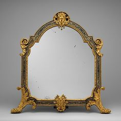Mirror, Dressing-Table French ca. 1700