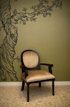 Park Lane Couture realistic stye 6ft  tree wall by ParkLaneCouture, $117.77