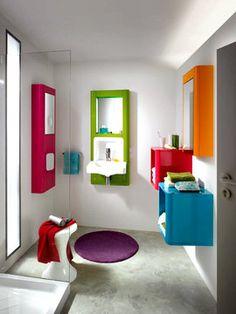 Et toujours : Une salle de bains qui met de bonne humeur